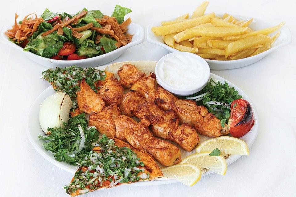 Charcoal Grill Restaurant Limassol Menu